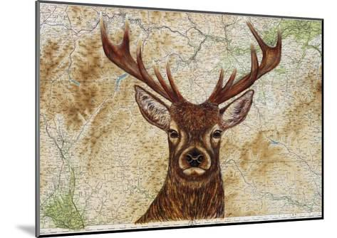 Stag-Jane Wilson-Mounted Giclee Print