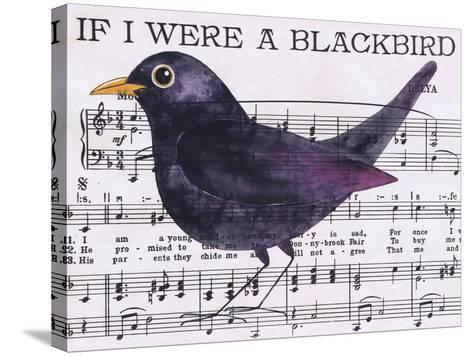 If I Were a Blackbird-Jane Wilson-Stretched Canvas Print