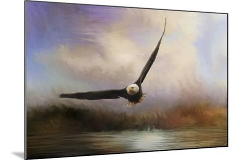 Eagle in the Marsh-Jai Johnson-Mounted Giclee Print
