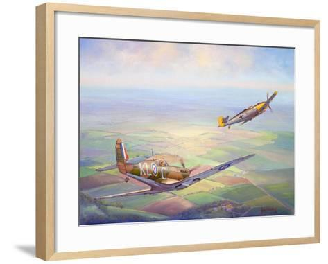 Nowhere to Hide-John Bradley-Framed Art Print