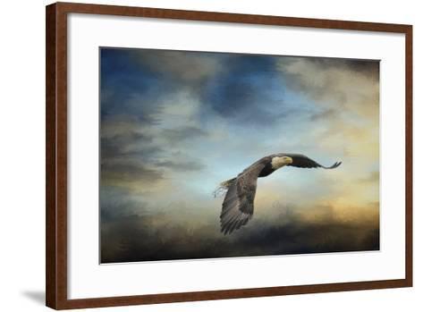 Grass before the Storm-Jai Johnson-Framed Art Print