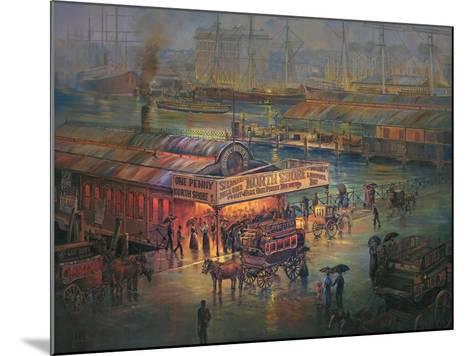 Penny Fare-John Bradley-Mounted Giclee Print