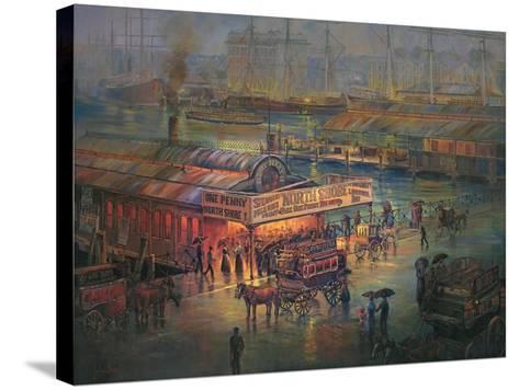Penny Fare-John Bradley-Stretched Canvas Print