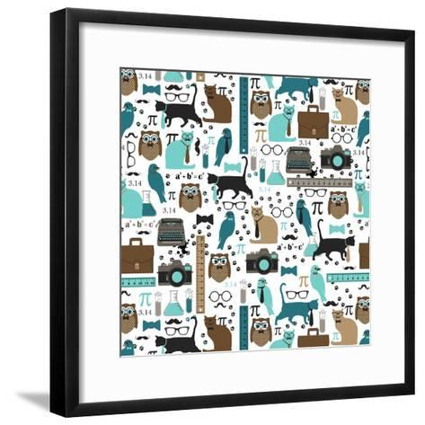 Piece of Pi-Joanne Paynter Design-Framed Art Print