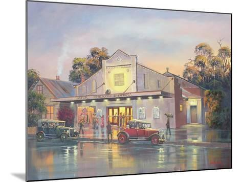 A Night at the Movies-John Bradley-Mounted Giclee Print