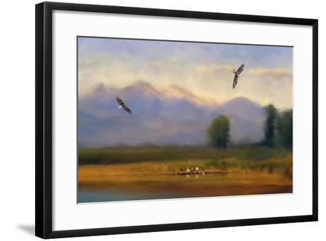 Where Eagles Play-Jai Johnson-Framed Art Print