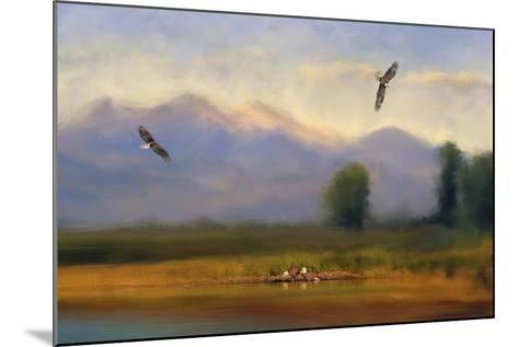 Where Eagles Play-Jai Johnson-Mounted Giclee Print