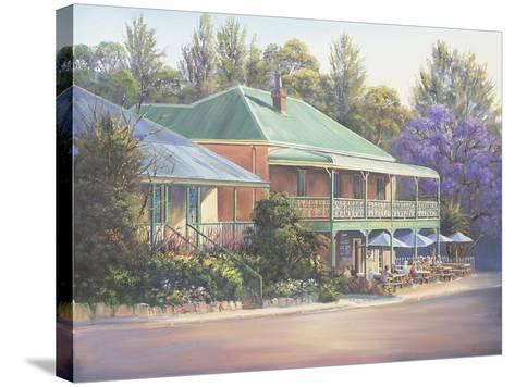 Paterson Inn-John Bradley-Stretched Canvas Print