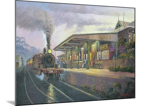 Day's End - Morpeth-John Bradley-Mounted Giclee Print