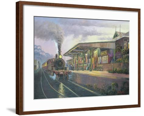 Day's End - Morpeth-John Bradley-Framed Art Print