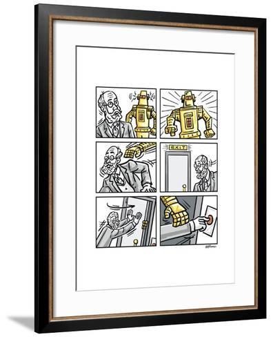 The Robot-Jerry Gonzalez-Framed Art Print