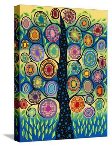 Pastel Tree of Life-Kerri Ambrosino-Stretched Canvas Print