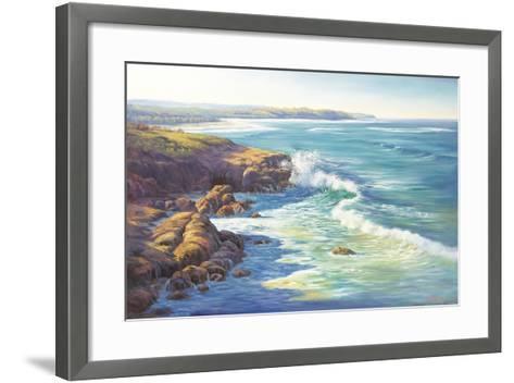Surge of the Sea-John Bradley-Framed Art Print