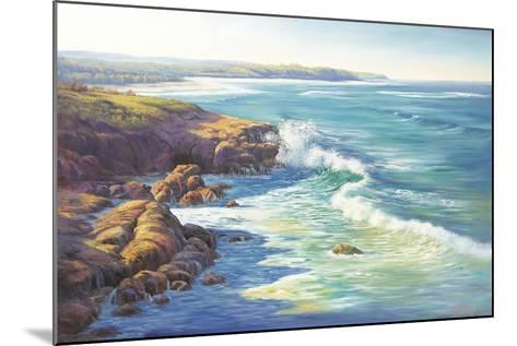 Surge of the Sea-John Bradley-Mounted Giclee Print