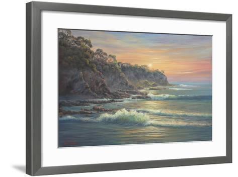 South Coast Sunrise-John Bradley-Framed Art Print