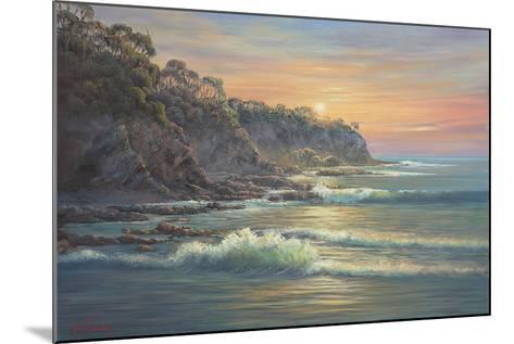South Coast Sunrise-John Bradley-Mounted Giclee Print