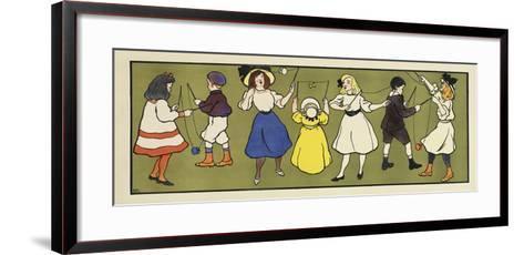 Children s Panel - Girls-Marcus Jules-Framed Art Print