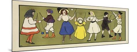 Children s Panel - Girls-Marcus Jules-Mounted Giclee Print