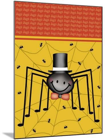 Spider 1-Maria Trad-Mounted Giclee Print