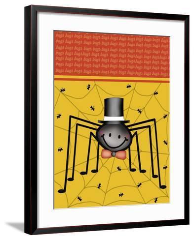 Spider 1-Maria Trad-Framed Art Print