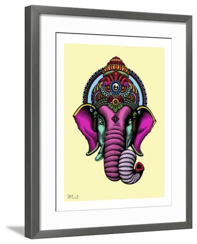India-Mark Ashkenazi-Framed Art Print