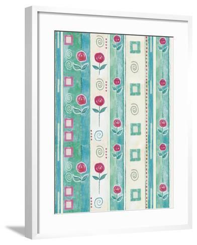 Roses-Maria Trad-Framed Art Print