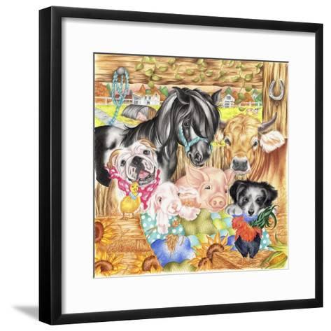 Farm Family-Karen Middleton-Framed Art Print