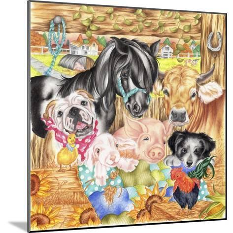 Farm Family-Karen Middleton-Mounted Giclee Print