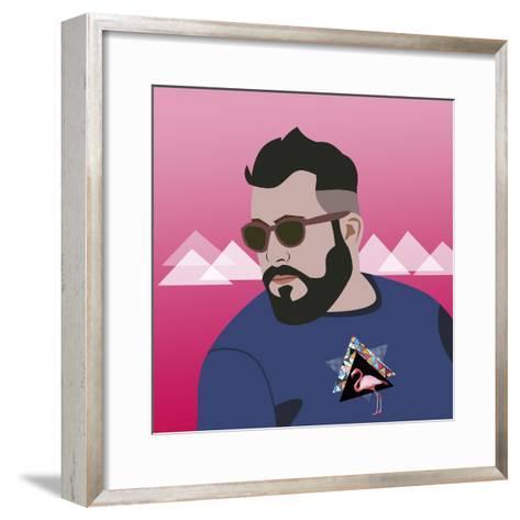 Cute-Mark Ashkenazi-Framed Art Print