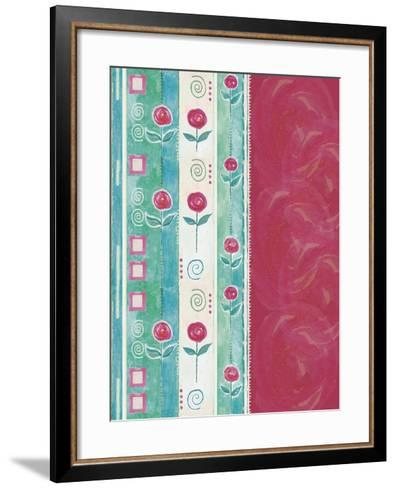 Roses and Roses-Maria Trad-Framed Art Print