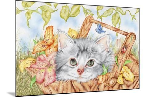 Lily Basket-Karen Middleton-Mounted Giclee Print