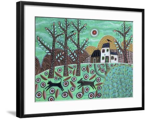 The Chase 1-Karla Gerard-Framed Art Print