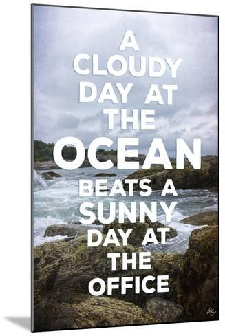 Cloudy Day-Kimberly Glover-Mounted Giclee Print