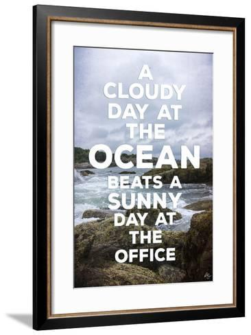 Cloudy Day-Kimberly Glover-Framed Art Print