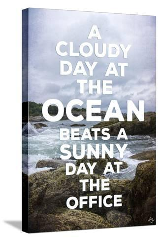 Cloudy Day-Kimberly Glover-Stretched Canvas Print