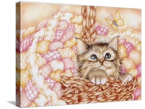 Pinkie-Karen Middleton-Stretched Canvas Print