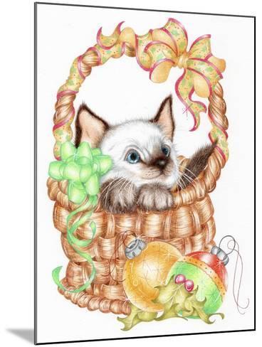 Siamese Christmas-Karen Middleton-Mounted Giclee Print