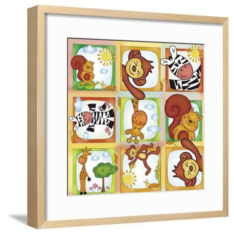 Jungle-Maria Trad-Framed Art Print