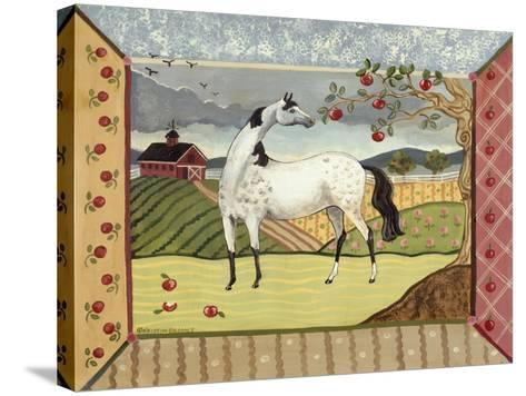 Apple Harvest - September 2-Kristin Bryant-Stretched Canvas Print