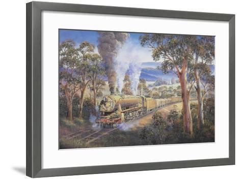 Hard Yakka-John Bradley-Framed Art Print