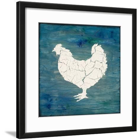 Farm Chicken-LightBoxJournal-Framed Art Print