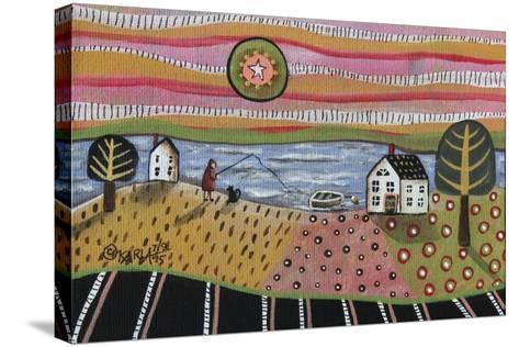 Fishing-Karla Gerard-Stretched Canvas Print