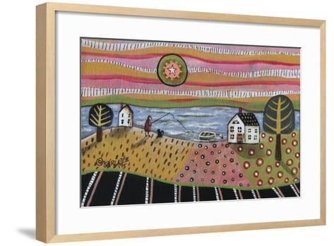Fishing-Karla Gerard-Framed Art Print