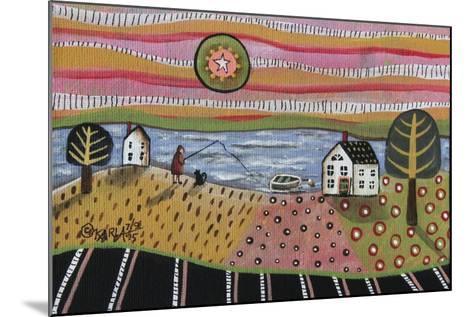 Fishing-Karla Gerard-Mounted Giclee Print