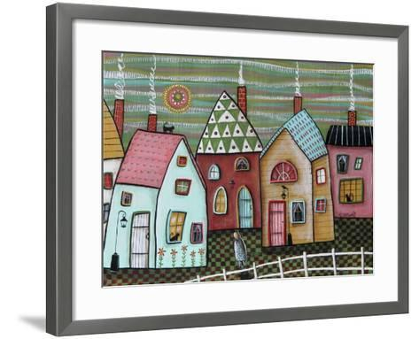 Walking-Karla Gerard-Framed Art Print