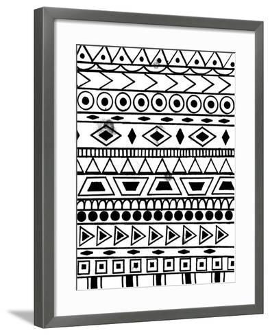 Festive Tribal-Laura Miller-Framed Art Print