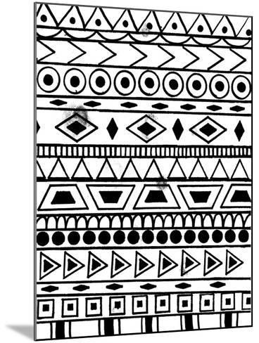 Festive Tribal-Laura Miller-Mounted Giclee Print
