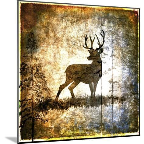 High Country Deer-LightBoxJournal-Mounted Giclee Print