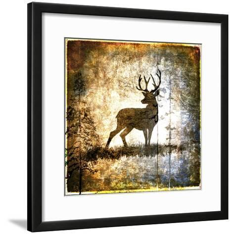High Country Deer-LightBoxJournal-Framed Art Print