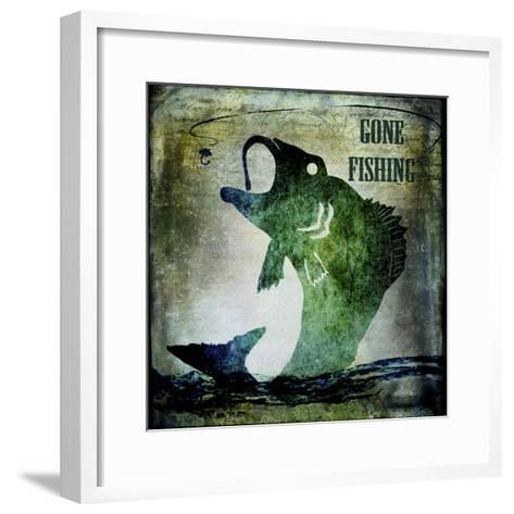 Gone Fishing-LightBoxJournal-Framed Art Print